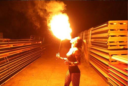 Feuershows NRW